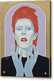 David Bowie Acrylic Print by Jovana Kolic