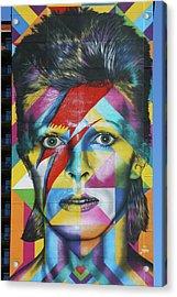 David Bowie Mural # 3 Acrylic Print