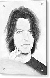 David Bowie - No Pressure Acrylic Print