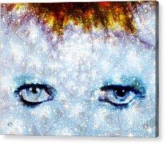 David Bowie / Stardust Acrylic Print