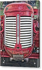 David Brown Tractor - Canberra - Australia Acrylic Print