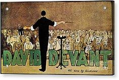 David Devant Poster C1910 Acrylic Print by Granger