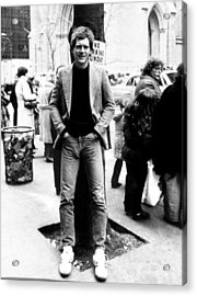 David Letterman, 010882 Acrylic Print by Everett