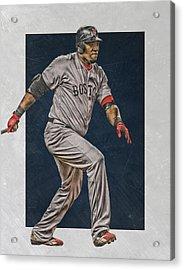 David Ortiz Boston Red Sox Art 2 Acrylic Print
