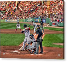 David Ortiz - Bostonn Red Sox Acrylic Print by Joann Vitali
