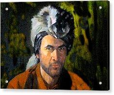 Davy Crockett Acrylic Print by David Lee Thompson