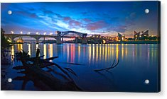 Dawn Along The River Acrylic Print by Steven Llorca