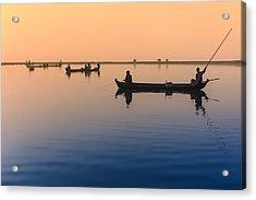 Dawn, Amarapura Acrylic Print