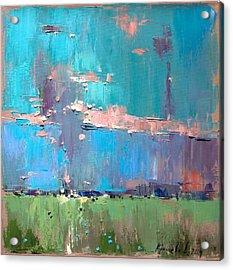 Acrylic Print featuring the painting Dawn by Anastasija Kraineva