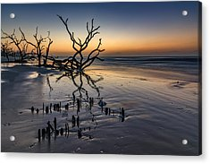 Dawn At Botany Bay Acrylic Print