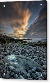Dawn At Boulder Beach Acrylic Print by Rick Berk