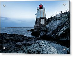Acrylic Print featuring the photograph Dawn At Castle Hill Lighthouse by Andrew Pacheco