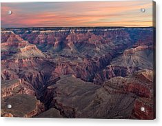 Dawn At Grand Canyon Acrylic Print
