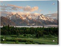 Dawn At Grand Teton National Park Acrylic Print