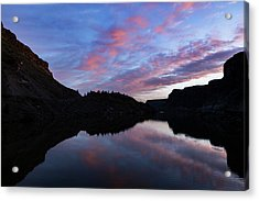 Acrylic Print featuring the photograph Dawn At Lake Billy Chinook by Cat Connor