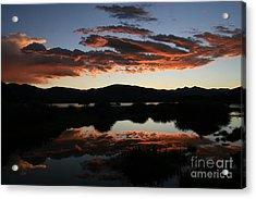 Dawn At Lake Dillon Acrylic Print