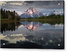 Dawn At Oxbow Bend Acrylic Print