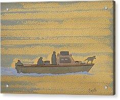 Dawn At Prout's Neck   Acrylic Print by Robert Boyette