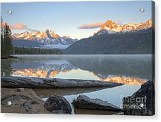 Dawn At Redfish Acrylic Print