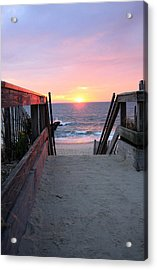 Dawn At The Beach Acrylic Print