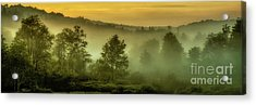 Acrylic Print featuring the photograph Dawn At Wildlife Management Area by Thomas R Fletcher
