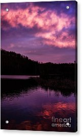 Acrylic Print featuring the photograph Dawn Big Ditch Wildlife Management Area by Thomas R Fletcher