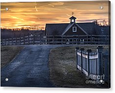 Dawn Breaking Acrylic Print