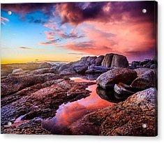 Dawn Colours Acrylic Print