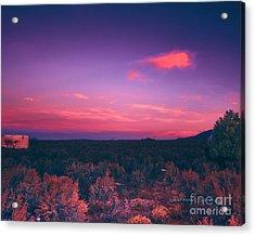 Dawn In Taos Acrylic Print