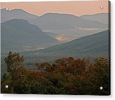 Dawn In The White Mountains Acrylic Print by Juergen Roth