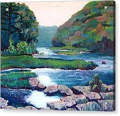 Dawn In West Virginia Acrylic Print