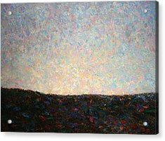 Dawn Acrylic Print by James W Johnson
