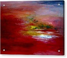 Dawn Acrylic Print by LeeAnn Alexander