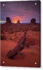 Dawn // Monument Valley // Arizona Acrylic Print