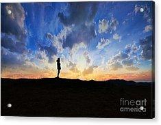 Dawn Of A New Day Sunrise 140a Acrylic Print by Ricardos Creations