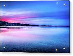 Acrylic Print featuring the photograph Dawn On Bainbridge Island by Spencer McDonald