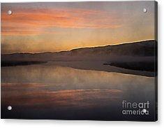 Dawn On Flat Creek Acrylic Print