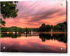 Dawn On The Saco River Acrylic Print
