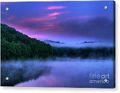 Dawn On The Summer Solstice Acrylic Print by Thomas R Fletcher