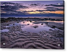 Dawn On Wells Beach Acrylic Print by Rick Berk