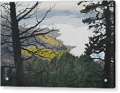 Dawn Over Eagle Nest Lake Acrylic Print by Kenny King