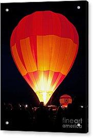 Dawn Patrol Balloon Fiesta Acrylic Print by Jim Chamberlain
