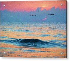 Dawn Patrol Acrylic Print by JC Findley