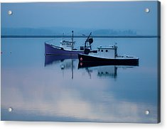 Acrylic Print featuring the photograph Dawn Rising Over The Harbor by Jeff Folger