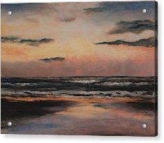 Dawn Acrylic Print by Sarah Bernhardt