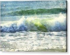 Dawn Wave Acrylic Print by Francesa Miller