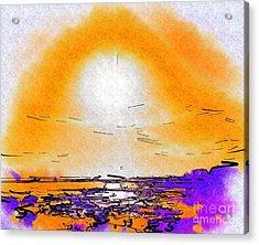 Dawning Acrylic Print by Deborah Selib-Haig DMacq
