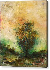 Dawns Dew 1  Acrylic Print by Eric Rabbers
