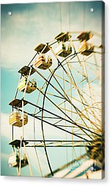 Day At The Beach No.3 Acrylic Print by Lisa McStamp