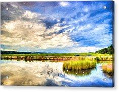 Day At The Marsh Acrylic Print